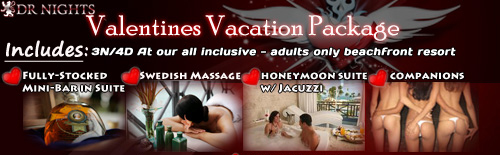 valentines day vacation package