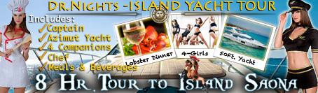 private yacht tour isla saona charter