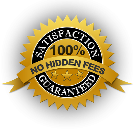 No hidden Fees Guarantee